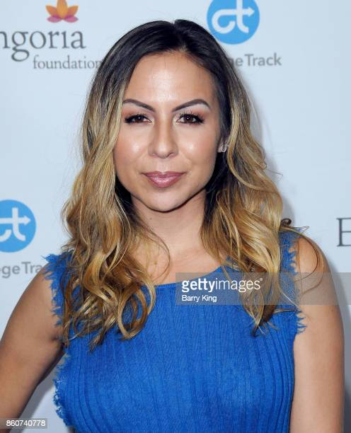 Comedian/actress Anjelah Johnson attends the Eva Longoria Foundation annual dinner at Four Seasons Hotel Los Angeles at Beverly Hills on October 12...