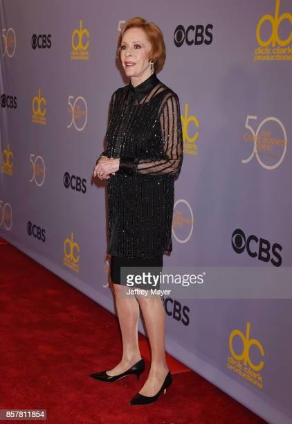 Comedianactresssingerwriter Carol Burnett attends the CBS' 'The Carol Burnett Show 50th Anniversary Special' at CBS Televison City on October 4 2017...