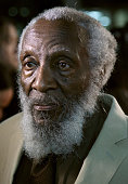 Comedian/civil rights activist Dick Gregory attends Dick Gregory Friends Tribute and Toast at The Ricardo Montalban Theatre on February 3 2015 in...