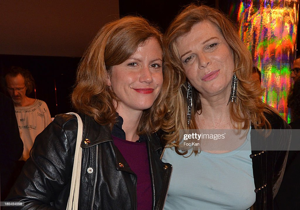 Comedian/jury member Oceane Rose Marie and jury President Pascale Ourbih attend the 'Cheries Cheris' Gay Lesbian Transexual 19th Film Festival Closing Ceremony At The Forum DesHalles on October 20, 2013 in Paris, France.