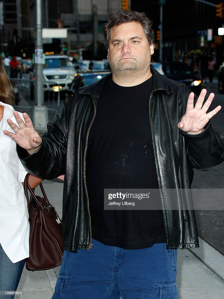 Comedian/radio personality Artie Lange visits 'Late Show With David Letterman' at the Ed Sullivan Theater on August 24 2009 in New York City