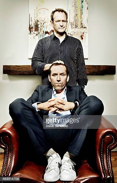 Comedians Alexander Armstrong Ben Miller are photographed on October 10 2009 in London England