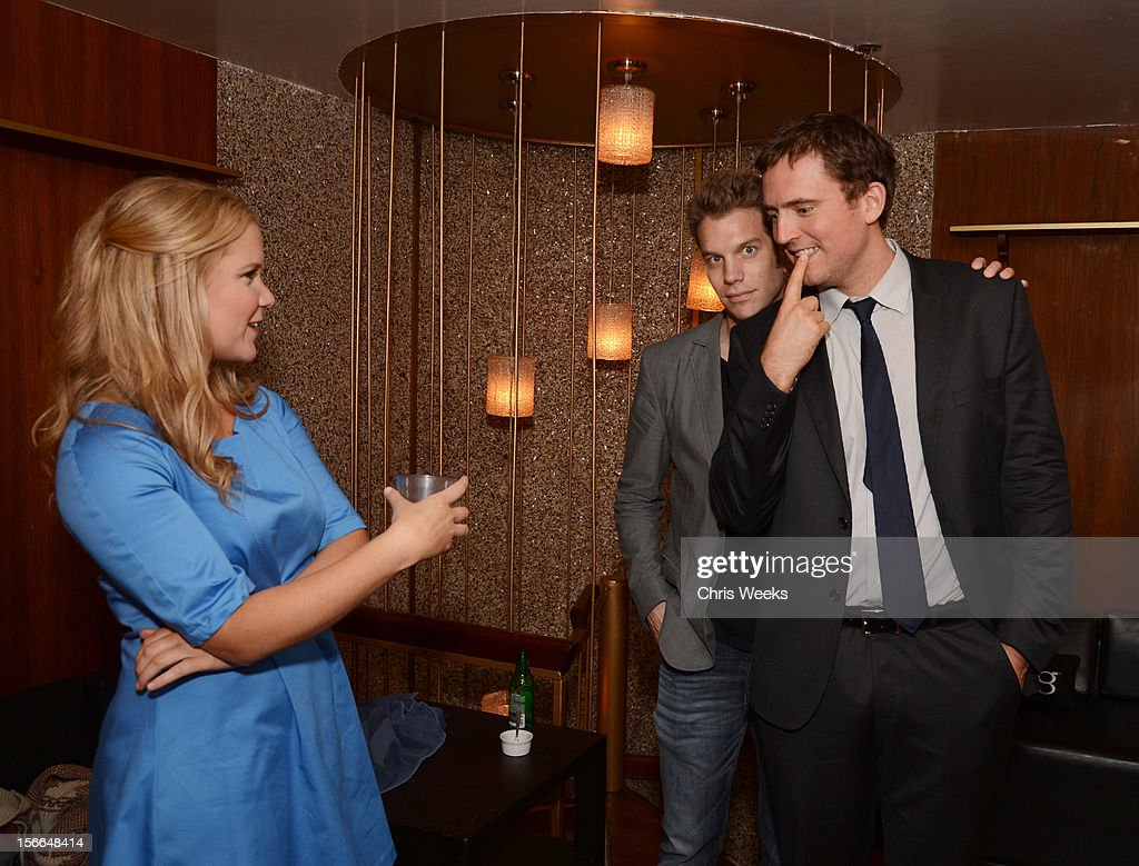 Comedians <a gi-track='captionPersonalityLinkClicked' href=/galleries/search?phrase=Amy+Schumer&family=editorial&specificpeople=4680682 ng-click='$event.stopPropagation()'>Amy Schumer</a>, Anthony Jeselnik and Owen Benjamin attend Variety's 3rd annual Power of Comedy event presented by Bing benefiting the Noreen Fraser Foundation held at Avalon on November 17, 2012 in Hollywood, California.