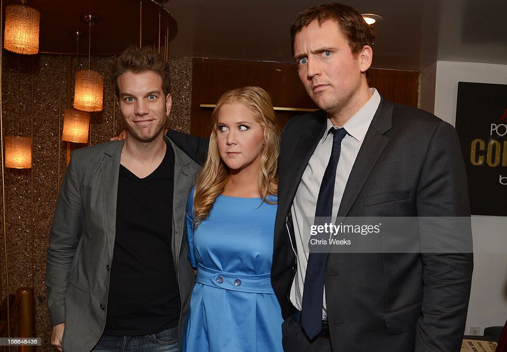 Comedians Anthony Jeselnik, <a gi-track='captionPersonalityLinkClicked' href=/galleries/search?phrase=Amy+Schumer&family=editorial&specificpeople=4680682 ng-click='$event.stopPropagation()'>Amy Schumer</a>, and Owen Benjamin attend Variety's 3rd annual Power of Comedy event presented by Bing benefiting the Noreen Fraser Foundation held at Avalon on November 17, 2012 in Hollywood, California.