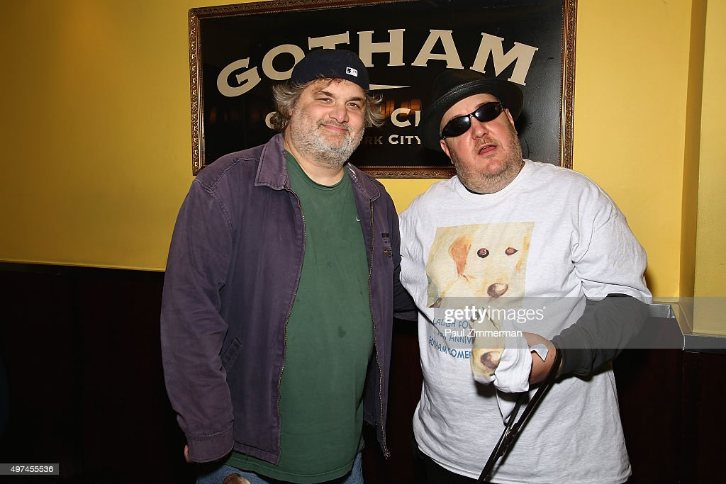 Comedians Artie Lange and Laugh For Sight Founder Brian Fischler attend the 10th Annual Laugh For Sight NYC AllStar Comedy Benefit at Gotham Comedy...