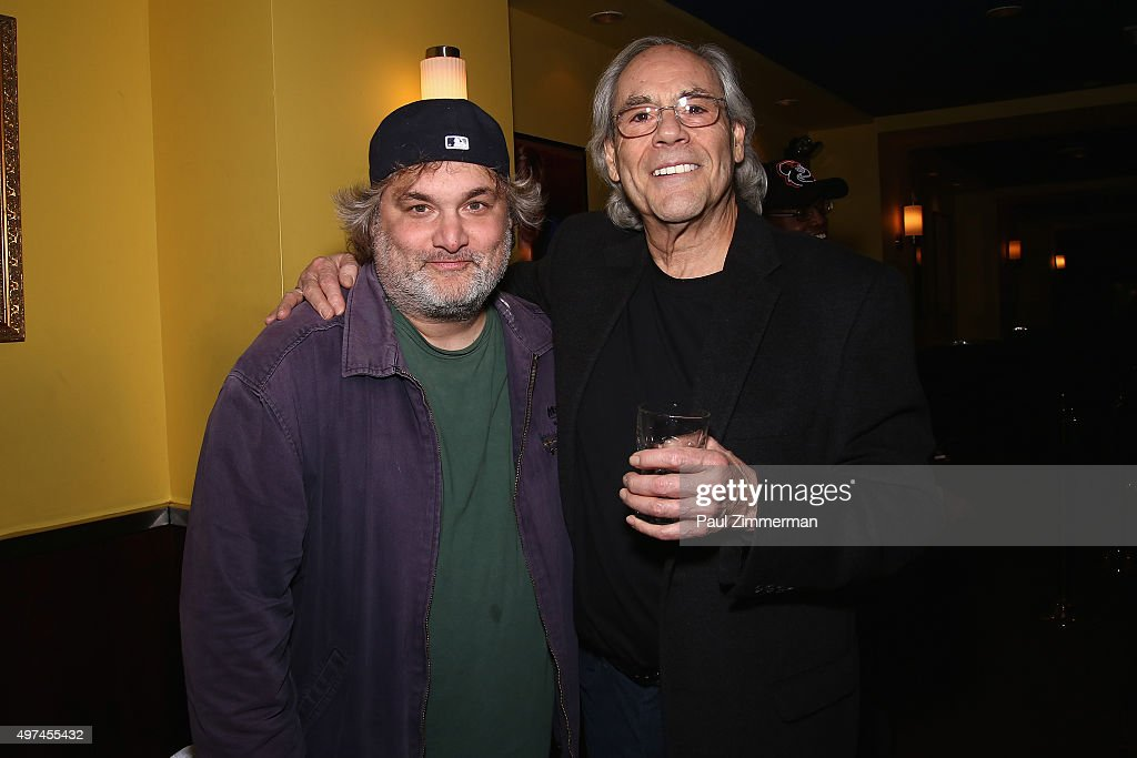 Comedians Artie Lange and Robert Klein attend the 10th Annual Laugh For Sight NYC AllStar Comedy Benefit at Gotham Comedy Club on November 16 2015 in...