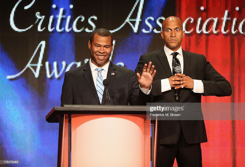 Comedians Key & Peele attend the 29th Annual Television Critics Association Awards at the Beverly Hilton Hotel on August 3, 2013 in Beverly Hills, California.