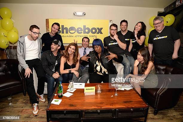 Comedians Neal Brennan Jiffy Wild Josh Wolf Heather McDonald host Rob Riggle comedians Loni Love Colleen Ballinger aka Miranda Sings and guests...
