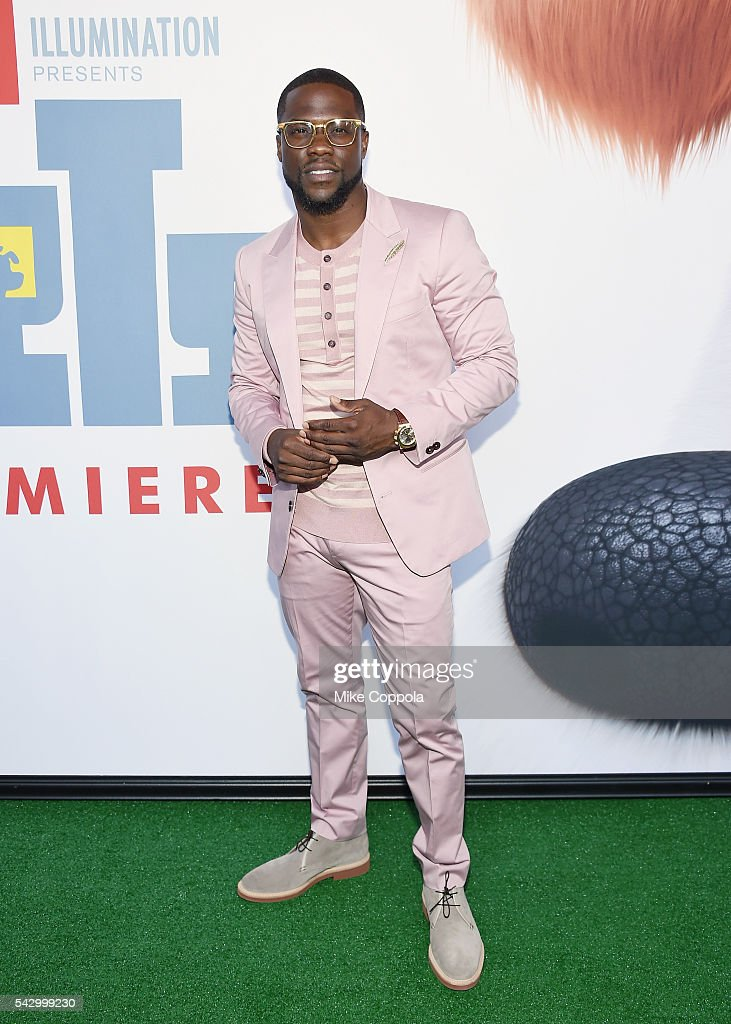 Comedians/actor Kevin Hart attends 'The Secret Life Of Pets' New York Premiere at David H Koch Theater at Lincoln Center on June 25 2016 in New York...