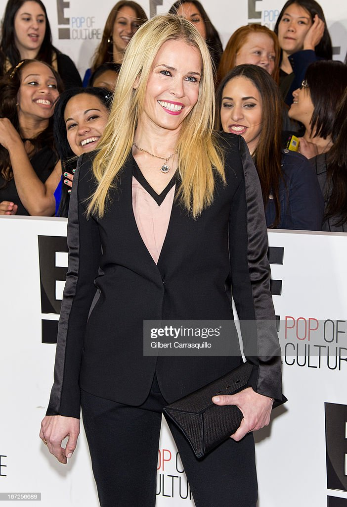 Comedian/talk show host Chelsea Handler attends the E! 2013 Upfront at The Grand Ballroom at Manhattan Center on April 22, 2013 in New York City.