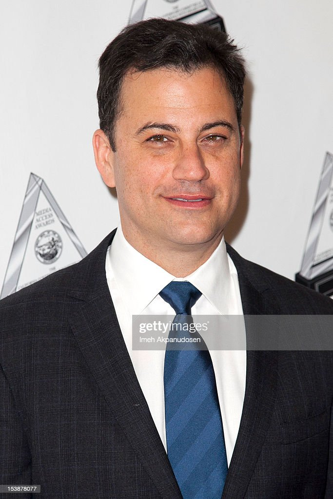 Comedian/TV host Jimmy Kimmel attends The 2012 Media Access Awards on October 10, 2012 in Beverly Hills, California.