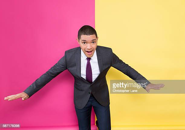 Comedian/TV host Trevor Noah is photographed for The Guardian Newspaper on March 11 2016 in New York City PUBLISHED IMAGE