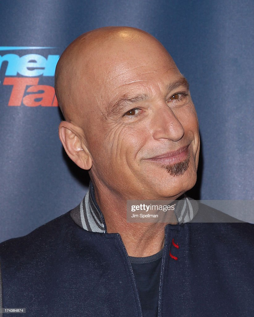 Comedian/TV personality <a gi-track='captionPersonalityLinkClicked' href=/galleries/search?phrase=Howie+Mandel&family=editorial&specificpeople=595760 ng-click='$event.stopPropagation()'>Howie Mandel</a> attends 'Americas Got Talent' Season 8 Post-Show Red Carpet Event at Radio City Music Hall on July 24, 2013 in New York City.