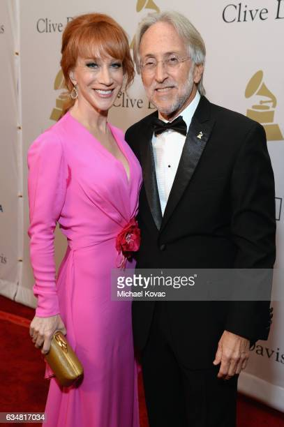 Comedian/TV personality Kathy Griffin and President/CEO of The Recording Academy and GRAMMY Foundation President/CEO Neil Portnow attend PreGRAMMY...