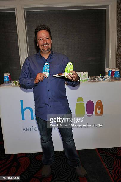 Comedian/ventriloquist Terry Fator attends the 2014 Billboard Music Awards Artist Appreciation Lounge at the MGM Grand Garden Arena on May 16 2014 in...