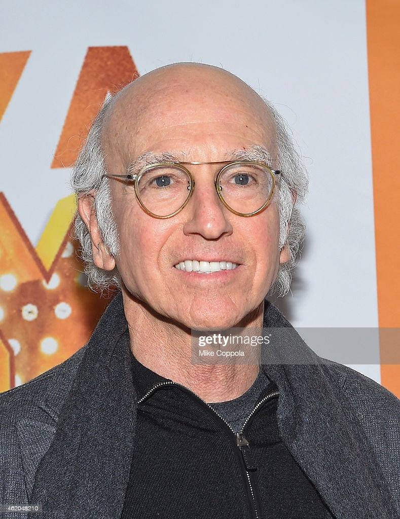 Comedian/writer Larry David attends 'It's Only A Play' Broadway Re-Opening Night at The Bernard B. Jacobs Theatre on January 23, 2015 in New York City.