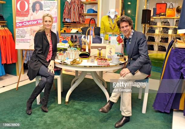 Comedienne Ali Wentworth and stylist Adam Glassman attend An Evening With Ali Wentworth Adam Glassman at the C Wonder Flagship Store on February 23...