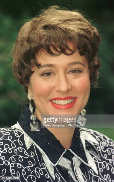 Comedienne Arabella Weir at a photocall for the new BBC series of 'The Fast Show'