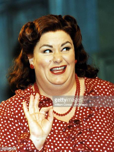 Comedienne Dawn French playing Bottom in the forthcoming production of A Midsummer Night's Dream at the Albery Theatre London