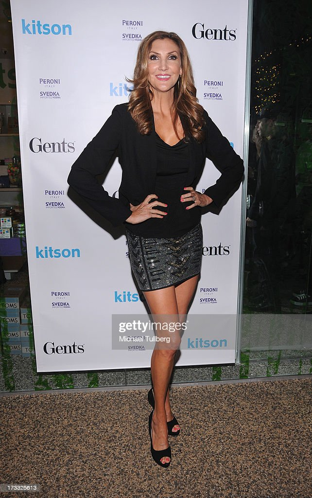 Comedienne <a gi-track='captionPersonalityLinkClicked' href=/galleries/search?phrase=Heather+McDonald&family=editorial&specificpeople=4756128 ng-click='$event.stopPropagation()'>Heather McDonald</a> attends the Gents At Kitson Launch Event at Kitson on Roberston on July 11, 2013 in Beverly Hills, California.
