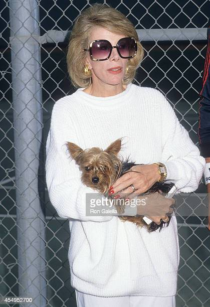 Comedienne Joan Rivers attends the Second Annual Joan Rivers Celebrity Tennis/Auction Classic to Benefit the Cystic Fibrosis Foundation on September...