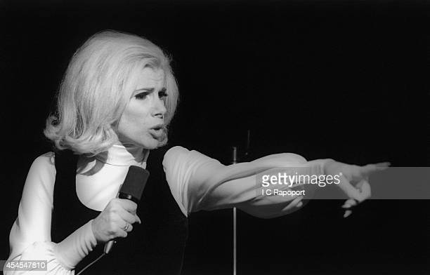 Comedienne Joan Rivers performs live in November 1970 in New York City New York
