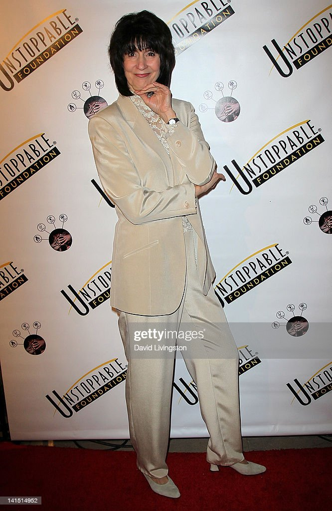 Comedienne Kathy Buckley attends the 3rd annual Unstoppable Gala at the Millennium Biltmore Hotel on March 17, 2012 in Los Angeles, California.