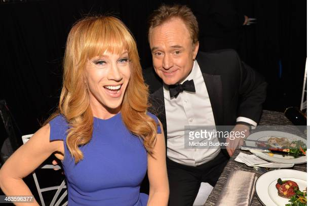 Comedienne Kathy Griffin and actor Bradley Whitford attend the 20th Annual Screen Actors Guild Awards at The Shrine Auditorium on January 18 2014 in...