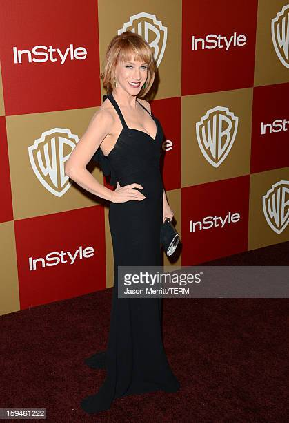 Comedienne Kathy Griffin attends the 14th Annual Warner Bros And InStyle Golden Globe Awards After Party held at the Oasis Courtyard at the Beverly...
