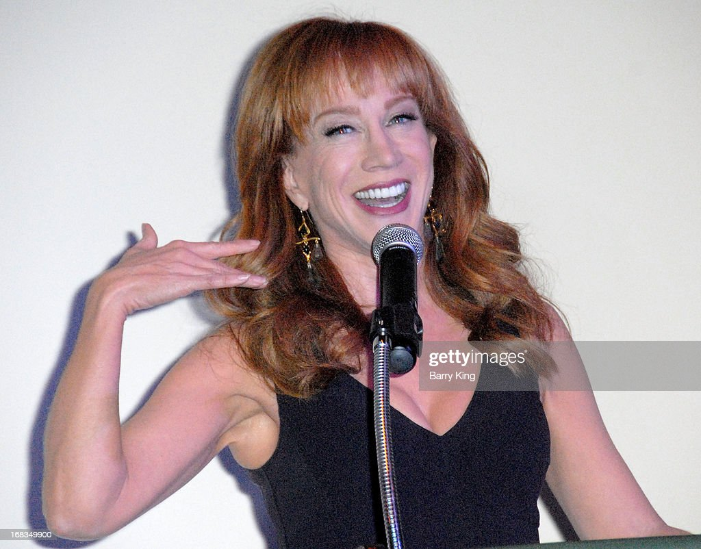Comedienne <a gi-track='captionPersonalityLinkClicked' href=/galleries/search?phrase=Kathy+Griffin&family=editorial&specificpeople=203161 ng-click='$event.stopPropagation()'>Kathy Griffin</a> attends the Iraq And Afghanistan Veterans Of America's 5th Annual Heroes Celebration on May 8, 2013 at the Mr. C Beverly Hills in Beverly Hills, California.