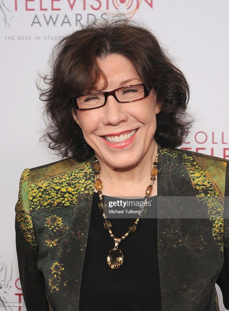 Comedienne <a gi-track='captionPersonalityLinkClicked' href=/galleries/search?phrase=Lily+Tomlin&family=editorial&specificpeople=208236 ng-click='$event.stopPropagation()'>Lily Tomlin</a> attends the 34th College Television Awards Gala at JW Marriott Los Angeles at L.A. LIVE on April 25, 2013 in Los Angeles, California.