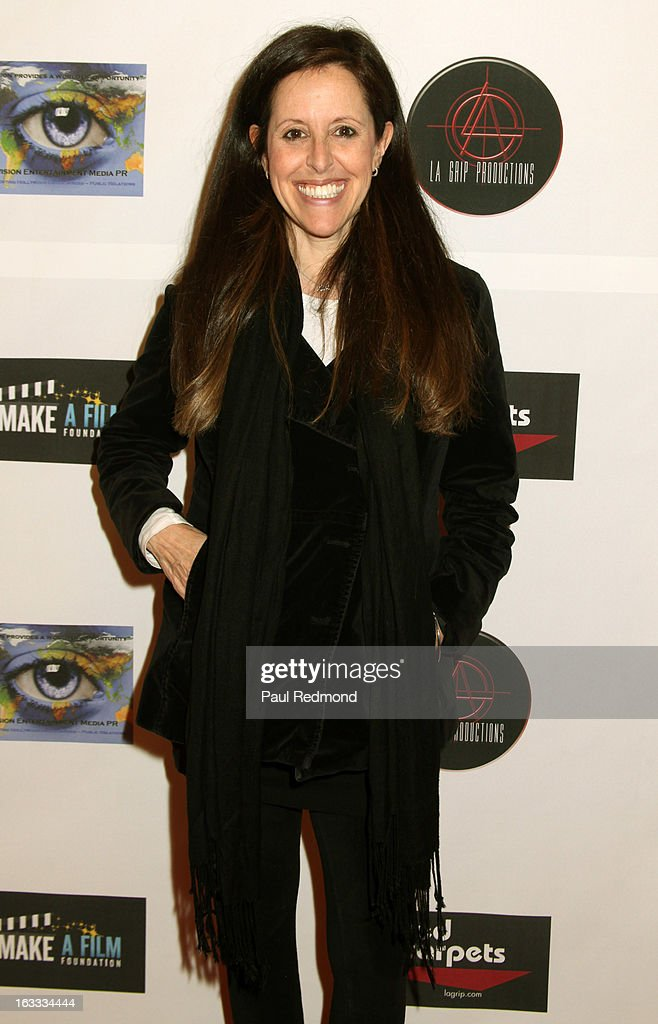 Comedienne Wendy Liebman arrives at Make A Film Foundation's 'Kidz 4 Kidz' Comedy 4 A Cau$e Benefit Show at Writers Guild Theater on March 7, 2013 in Beverly Hills, California.