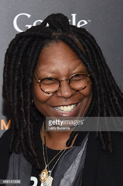 Comedienne Whoopi Goldberg attends the 'The Imitation Game' New York Premiere at Ziegfeld Theater on November 17 2014 in New York City