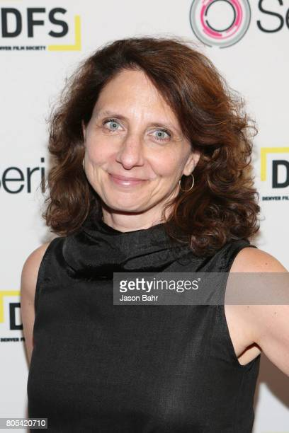 Comedy Central President Michele Ganeless arrives to the Women In Entertainment panel discussion for SeriesFest Season 3 at Sie FilmCenter on July 1...
