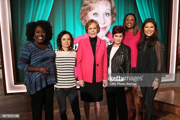 Comedy legend Carol Burnett discusses her SAG Life Achievement Award on 'The Talk' Wednesday January 27 2016 on the CBS Television Network From left...