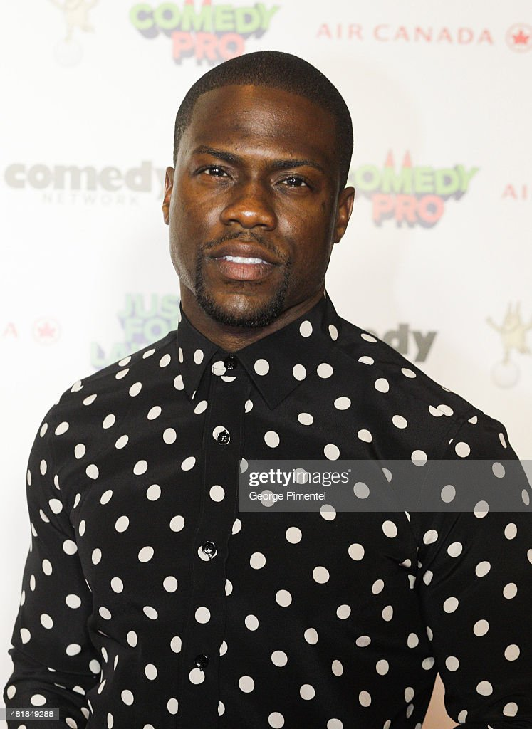 Comedy person of the year Kevin Hart attends Just For Laughs Festival comedy awards night at The Hyatt Regency in Montreal on July 24 2015 in...