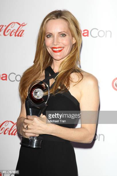 Comedy Star of the Year award winner Leslie Mann attends The CinemaCon Big Screen Achievement Awards at Cinemacon 2014 Day 4 held at The Colosseum at...