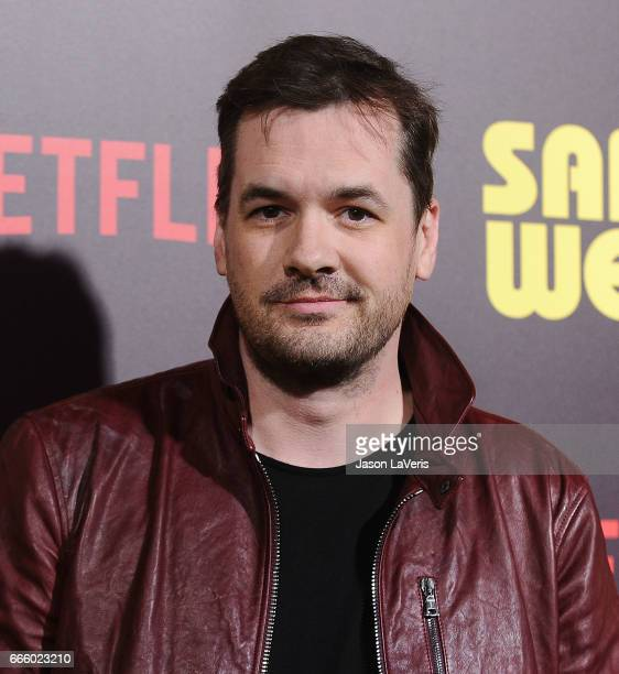 Comeidan Jim Jefferies attends the premiere of 'Sandy Wexler' at ArcLight Cinemas Cinerama Dome on April 6 2017 in Hollywood California