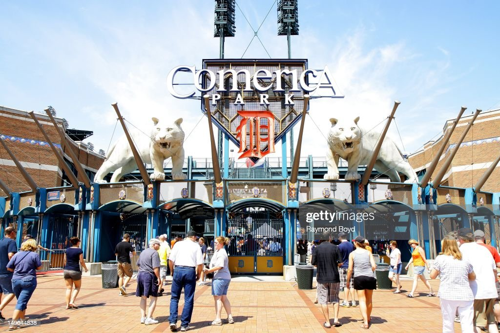 Comerica Park, in Detroit, Michigan on JULY