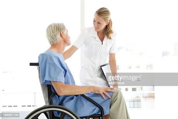 Un patient réconfortant