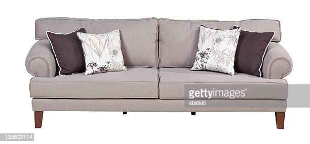 Bequemes sofa mit path