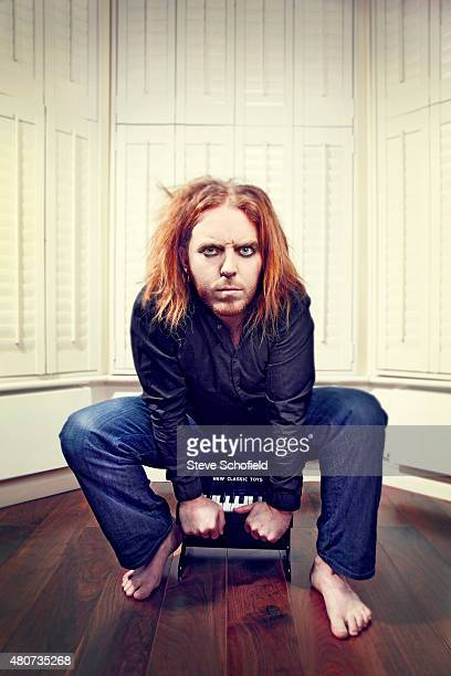 Comic and musician Tim Minchin is photographed for the Independent on November 17 2010 in London England
