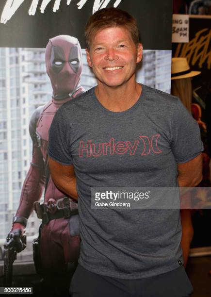 Comic book artist Rob Liefeld attends the Amazing Las Vegas Comic Con at the Las Vegas Convention Center on June 24 2017 in Las Vegas Nevada