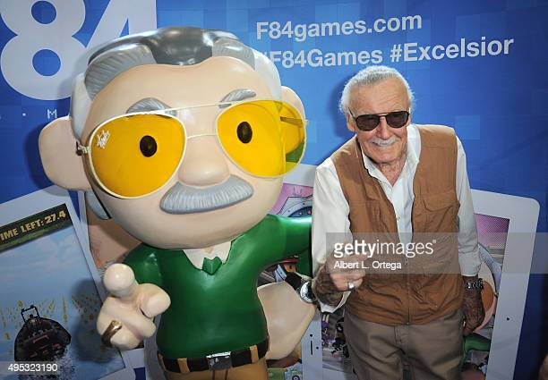 Comic Book Icon Stan Lee attends Stan Lee's Comikaze Expo Day One held at Los Angeles Convention Center on November 1 2015 in Los Angeles California