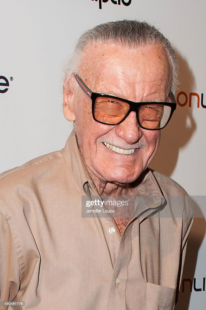 Comic book icon <a gi-track='captionPersonalityLinkClicked' href=/galleries/search?phrase=Stan+Lee&family=editorial&specificpeople=206380 ng-click='$event.stopPropagation()'>Stan Lee</a> attends the Wikipad & OnLive E3 Party at the Elevate Lounge on June 11, 2014 in Los Angeles, California.