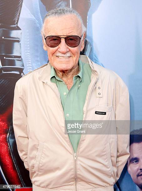 Comic book icon Stan Lee attends the world premiere of Marvel's 'AntMan' at The Dolby Theatre on June 29 2015 in Los Angeles California