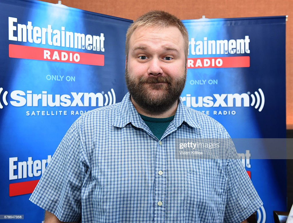 Comic book writer Robert Kirkman attends SiriusXM's Entertainment Weekly Radio Channel Broadcasts From Comic-Con 2016 at Hard Rock Hotel San Diego on July 21, 2016 in San Diego, California.
