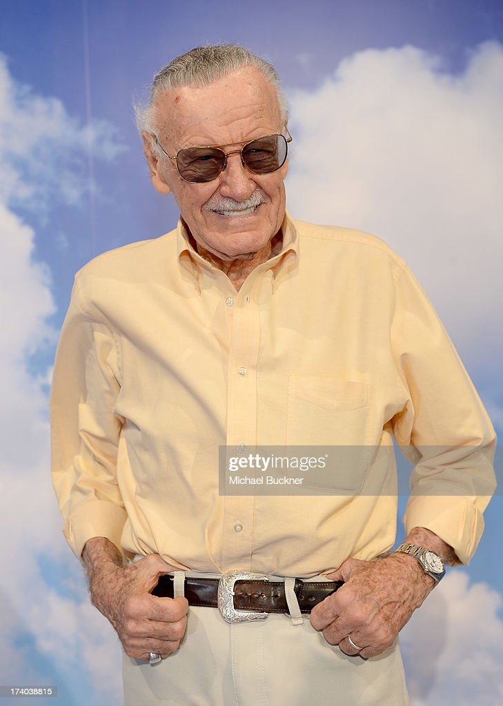 Comic book writer <a gi-track='captionPersonalityLinkClicked' href=/galleries/search?phrase=Stan+Lee&family=editorial&specificpeople=206380 ng-click='$event.stopPropagation()'>Stan Lee</a> attends Day 2 of The Samsung Galaxy Experience on July 19, 2013 in San Diego, California.