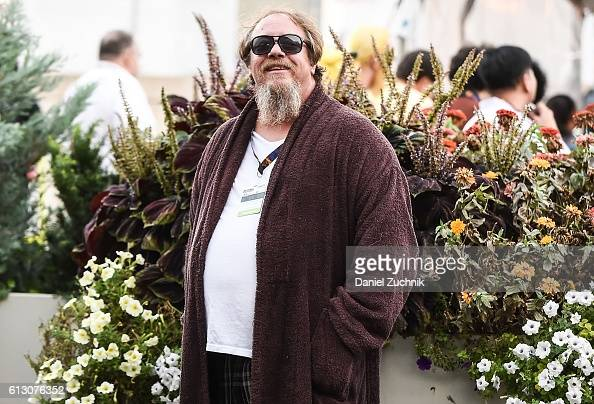 Comic Con attendee poses as The Dude from The Big Lebowski during 2016 New York Comic Con Day 1 on October 6 2016 in New York City