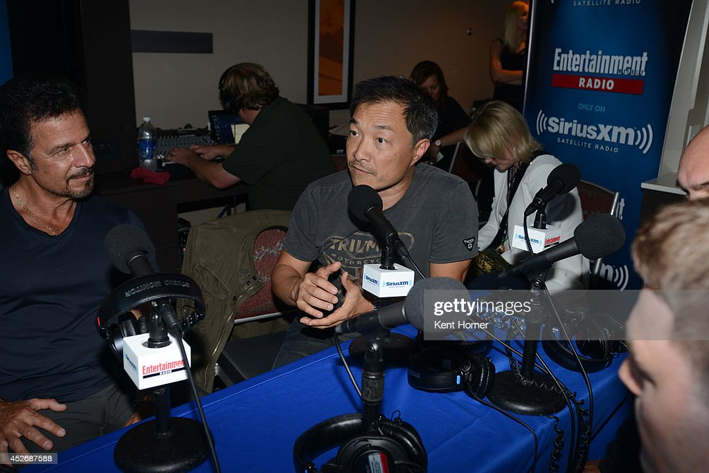 DC Comic Co-Publisher Jim Lee is interviewed on SiriusXM's Entertainment Weekly Radio channel from Comic-Con 2014 at The Hard Rock Hotel on July 25, 2014 in San Diego, California.